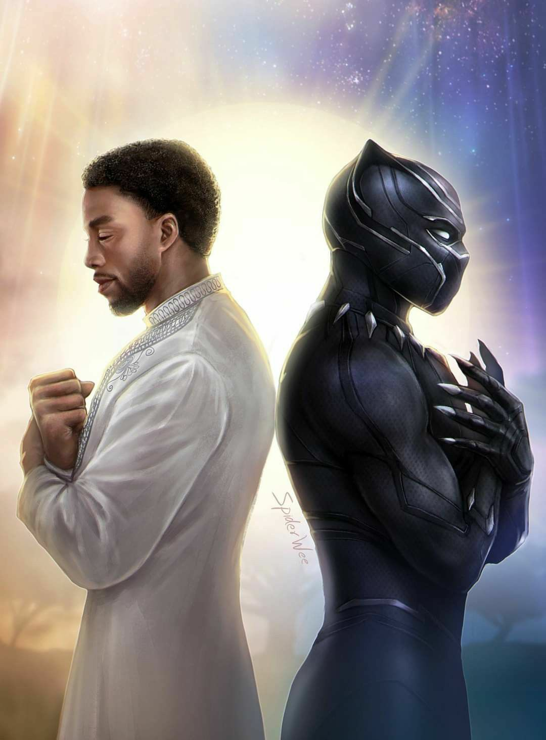 art, black panther, and rest easy image