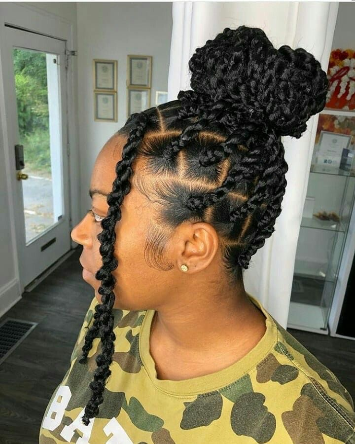 protective style, passion twist, and short passion twists image