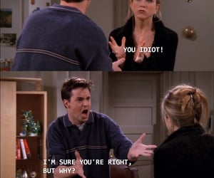 chandler bing, rachel green, and friends quotes image