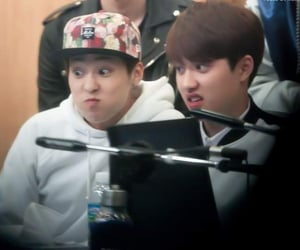 face, funny, and minseok image