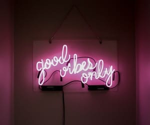 inspiration, positivity, and neon image