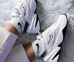 sneakers, nike, and shoes image