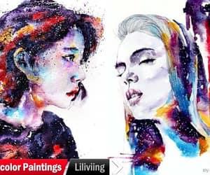 art, colorful art, and artwork image