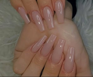 nails, acrylic nails, and colors image