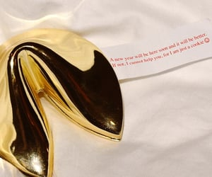 fortune, golden, and words image