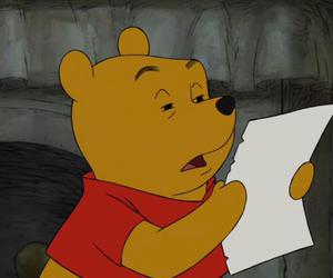 funny and winnie the pooh image