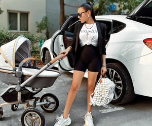 fashion, mum and baby, and mom life image