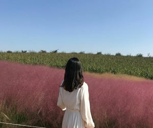 countryside, plants, and dress image