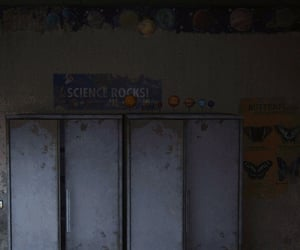 abandoned, classroom, and miniatures image