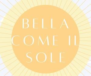 amarillo, sol, and italiano image