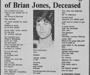 brian, retro, and Jim Morrison image