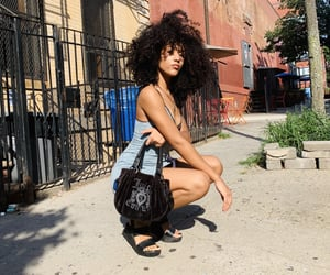 curls, mixed, and nyc image
