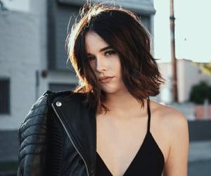 beautiful, model, and short hair image