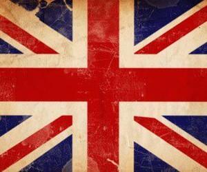 flag, england, and london image