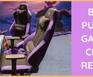 comfortable, best gaming chair, and coloured gaming chair image