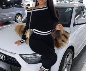 luxury, melanin, and straight hair wig image