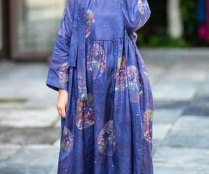 dress with pockets, women robe, and malieb image