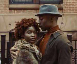 black, couples, and melanin image