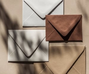 brown, envelope, and wallpaper image