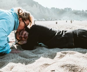 beach, Kendall, and kendall schmidt image