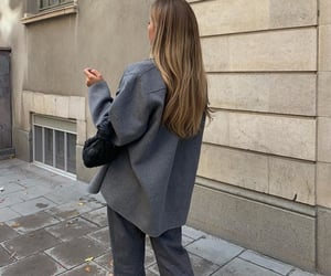 long ombre hair, fashionista fashionable, and fashion style mode image