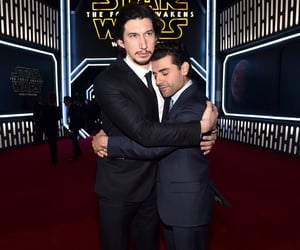 oscar isaac and adam driver image