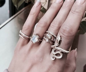 jewelry, gold, nails and accessories