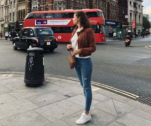 autumn, london, and style image