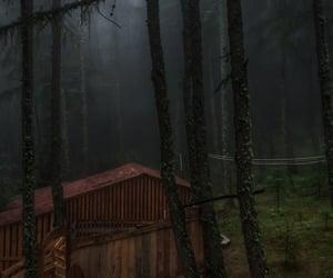 cabin, dark, and journey image