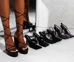 heels, shoes, and wedges image