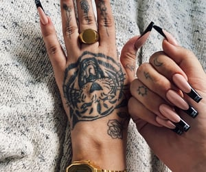 accessories, gucci, and hand tattoo image