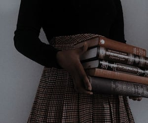 dark academia, aesthetic, and fashion image