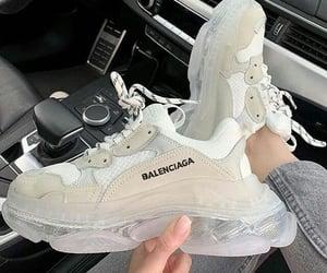 sneakers, Balenciaga, and shoes image