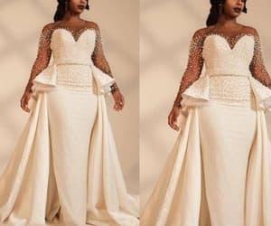 robe de mariée, african wedding dresses, and vestido de novia image