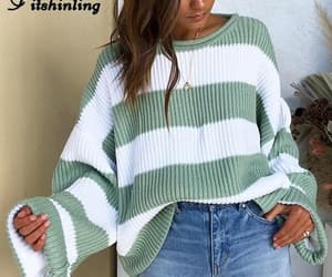 sweater, loose fit, and autumn collection image