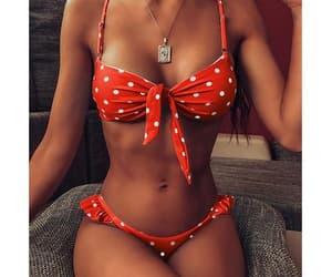 bikini, cute swimwear, and bootylicious bikini image