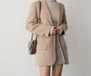 beauty, classic, and coat image