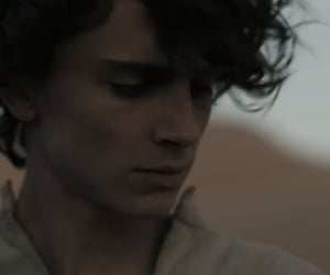 actor, timothee chalamet, and dune image