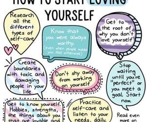 life and self love image