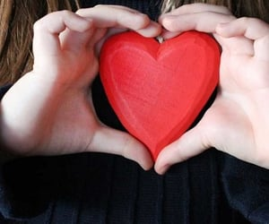 create, heart., and love image