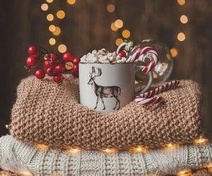 light, christmas, and sweater image