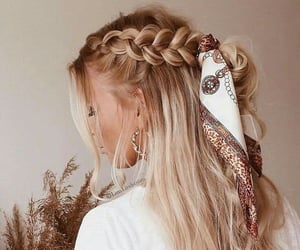 braids, hairstyle, and hair goals image