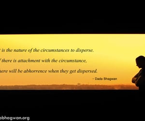 attachment, soul, and dada bhagwan image