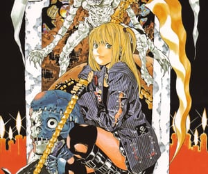 death note, anime, and misa amane image