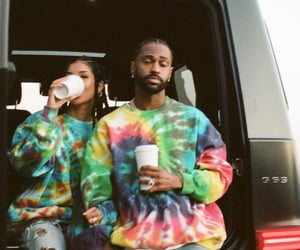 celebrity, couples, and big sean image