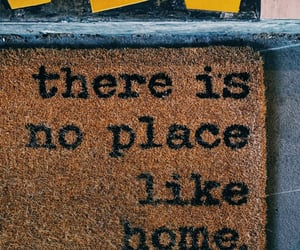 doormat, no place like home, and followtheyellowbrickroad image