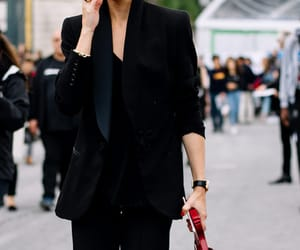 olivia palermo, suit, and womenswear image