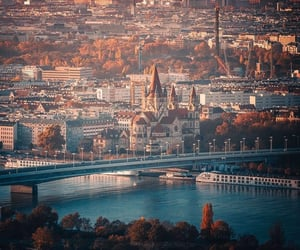 austria, travel, and wien image
