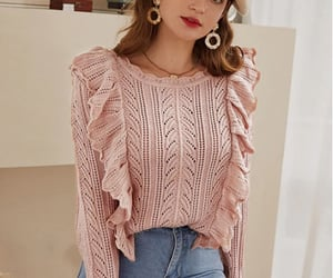 jumper, look, and outfit image