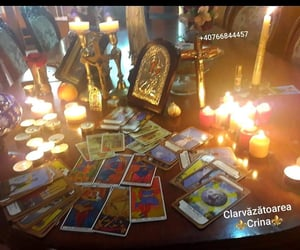 magic, tarot, and românia image